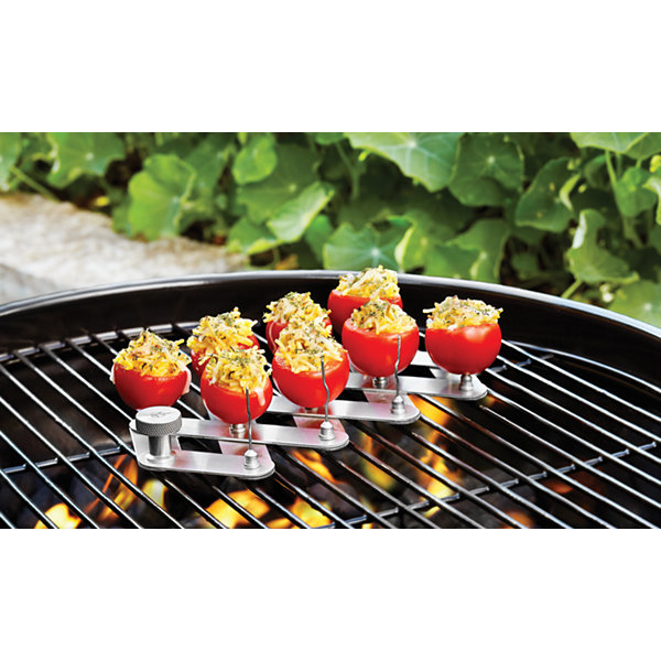 Outset BBQ Accordion Veggie Skewer