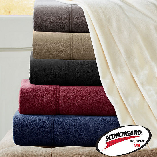 Peak Performance 3m Scotchgard Micro Fleece Sheet Set