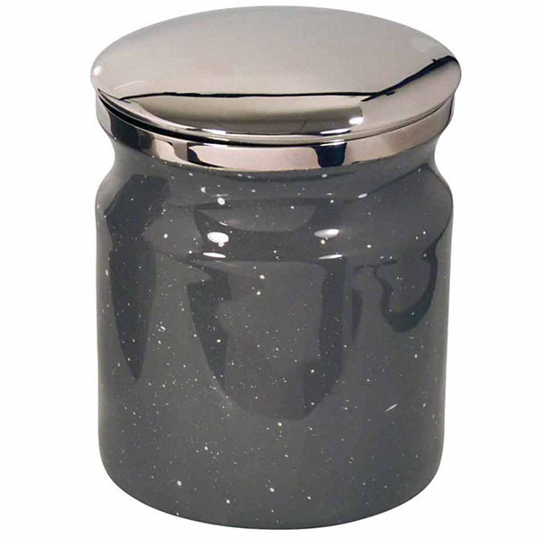 Scribble Spatterware Bathroom Canister