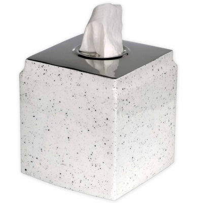 Scribble Spatterware Tissue Box Cover