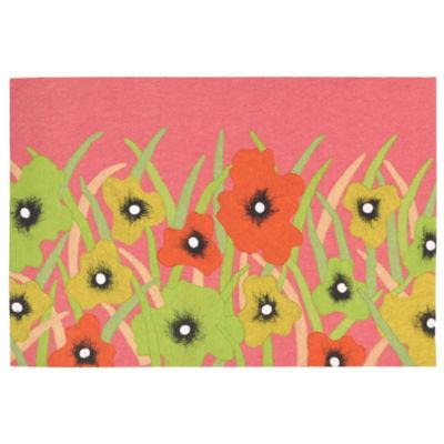 Liora Manne Visions Iii Wildflower Rectangular Rugs