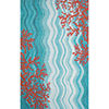 Liora Manne Visions Iv Coral Reef Rectangular Indoor/Outdoor Rugs