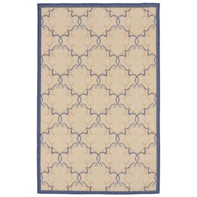 Liora Manne Terrace Delicate Scroll Square Rugs