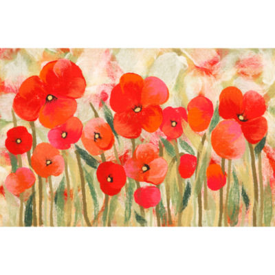 Liora Manne Visions Iv Poppies Rectangular Rugs