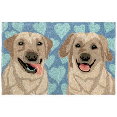 Liora Manne Frontporch Puppy Love Hand Tufted Rectangular Rugs