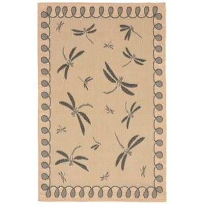 Liora Manne Terrace Dragonfly Rectangular Rugs