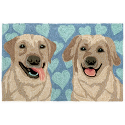 Liora Manne Frontporch Puppy Love Hand Tufted Rectangular Rugs