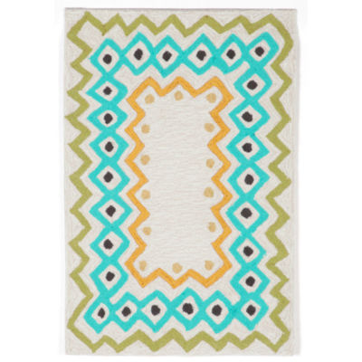 Liora Manne Capri Ethnic Hand Tufted Rectangular Rugs