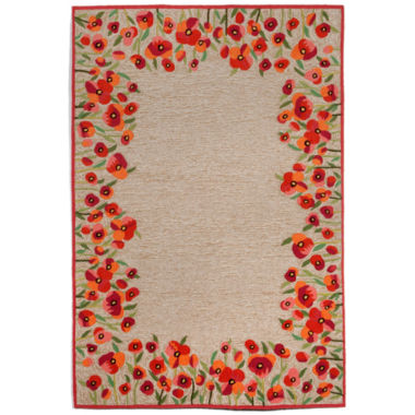 Liora Manne Ravella Poppies Hand Tufted Rectangular Rugs