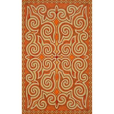 Liora Manne Ravella Kazakh Hand Tufted Rectangular Indoor/Outdoor Rugs