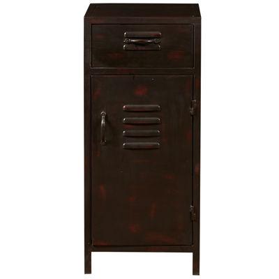 Pulaski Furniture Vintage Metal Door Accent Chest