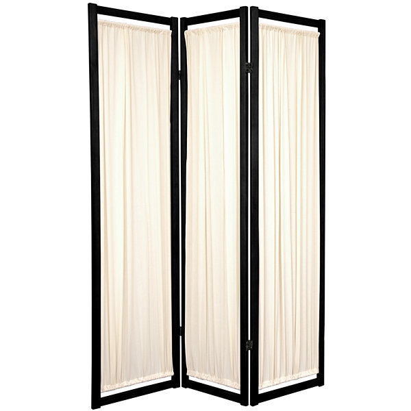 Oriental Furniture 6' Helsinki Shoji 3 Panel RoomDivider