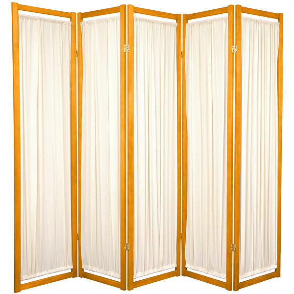 Oriental Furniture 6' Helsinki Shoji 5 Panel RoomDivider