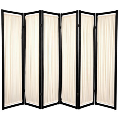 Oriental Furniture 6' Helsinki Shoji 6 Panel RoomDivider