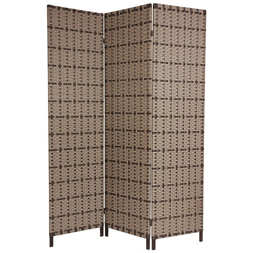 Oriental Furniture 6' Tropical Outdoor Screen RoomDivider