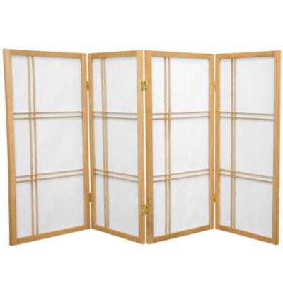 Oriental Furniture 6' Thai Buddha Room Divider