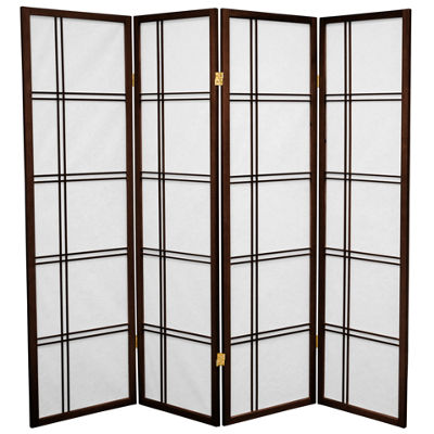 Oriental Furniture 6' New York City Room Divider