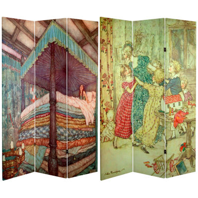 Oriental Furniture 6' Double Decker Bus Room Divider