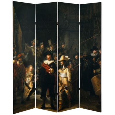 Oriental Furniture 6' Peace And Love Room Divider