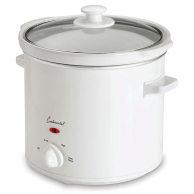 Continental Electric 4-Quart Round Slow Cooker