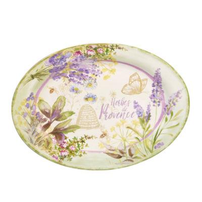 Certified International Herbes De Provence Serving Platter