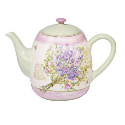 Certified International Herbes De Provence Teapot