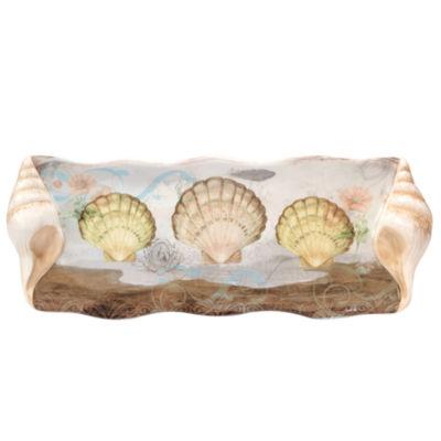 Certified International Coastal View Serving Platter