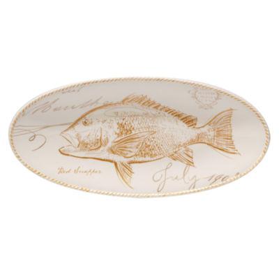 Certified International Coastal Discoveries Serving Platter