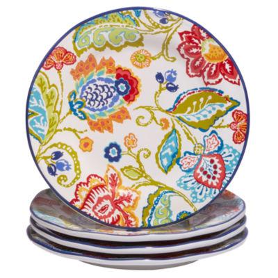 Certified International San Marino 4-pc. Dessert Plate