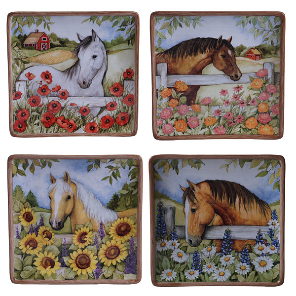 Certified International Heartland 4-pc. Salad Plate