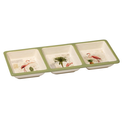 Certified International Floridian Serving Tray