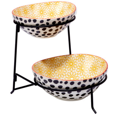 Certified International Daisy Dots Tiered Server