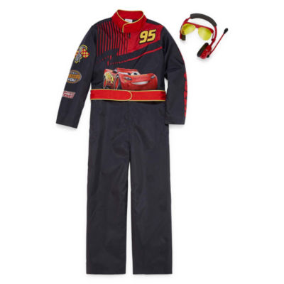 Disney® Long-Sleeve Cars Costume Jumpsuit - Boys
