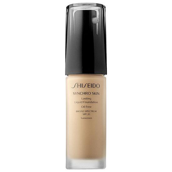 Shiseido Synchro Skin Lasting Liquid Foundation Broad Spectrum Spf 20