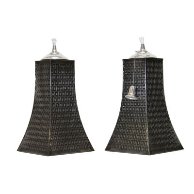 Outdoor Interiors Table Top Pyramid Torch