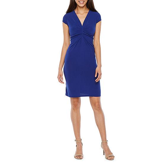 Weslee Rose Short Sleeve Fit & Flare Dress