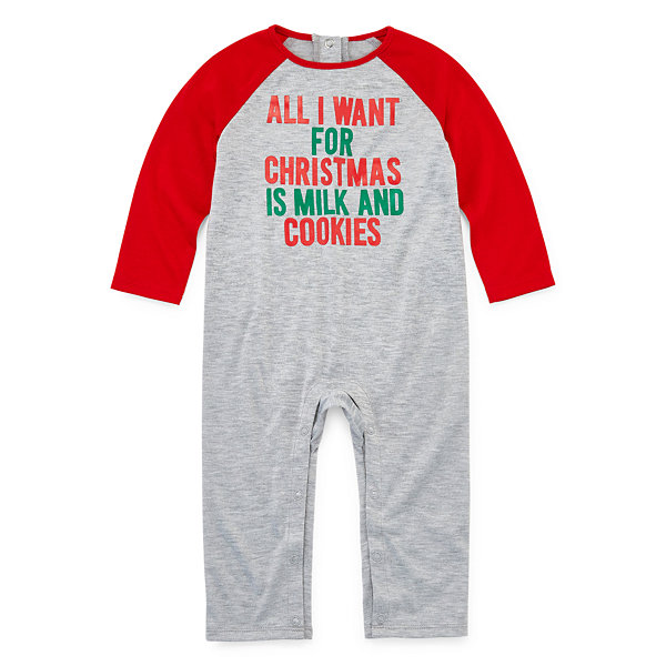North Pole Trading Co. Christmas Wish Family 1 Piece Pajama - Unisex Baby
