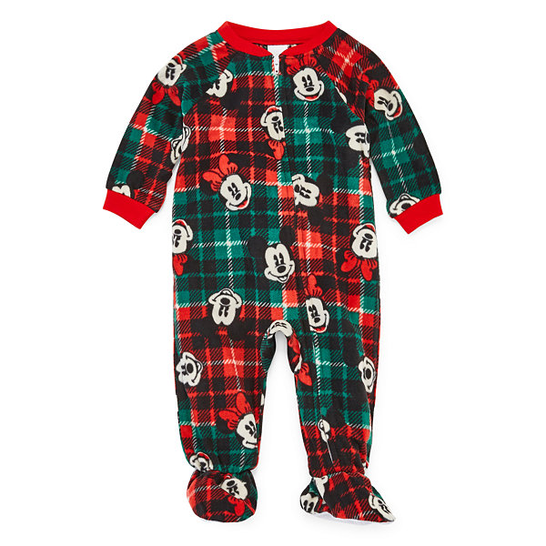 Disney Mickey Graphic Family 1 Piece Pajama - Unisex Baby