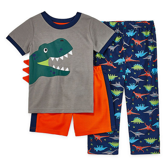 Rene Rofe Explorer Club 3 Pc Pajama Set Toddler Boys