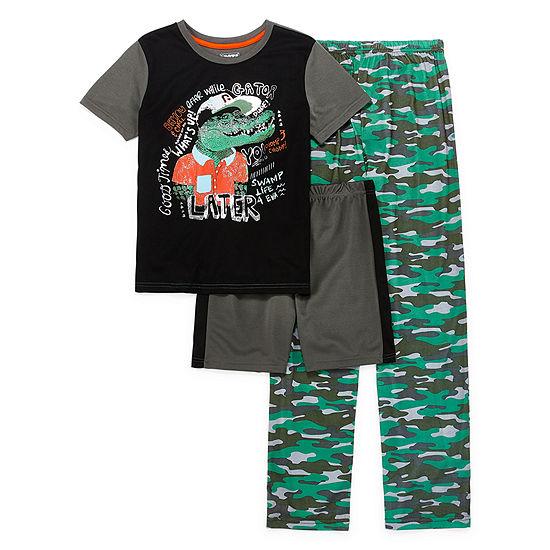 Rene Rofe Explorer Club Boys 3-pc. Pajama Set Preschool / Big Kid