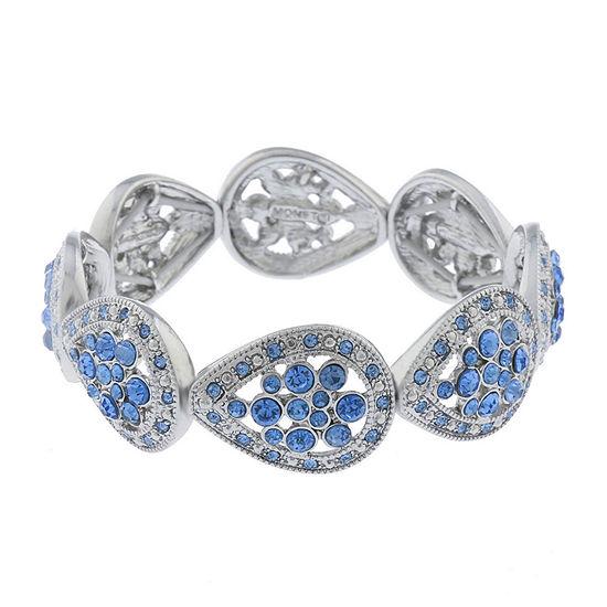 Monet Jewelry Golden Hour Blue Stretch Bracelet