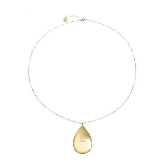 Liz Claiborne 30 Inch Cable Pendant Necklace