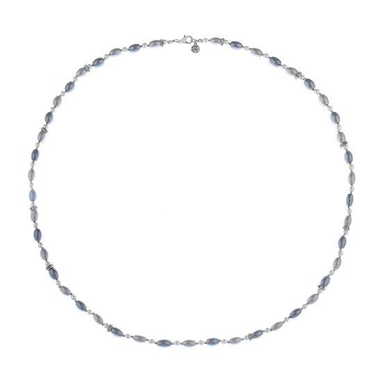 Monet Jewelry Gray 36 Inch Strand Necklace