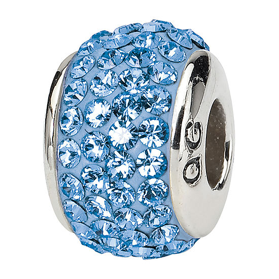 PS Personal Style Crystal Sterling Silver Bead