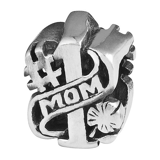 """PS Personal Style """"Mom"""" Sterling Silver Bead"""