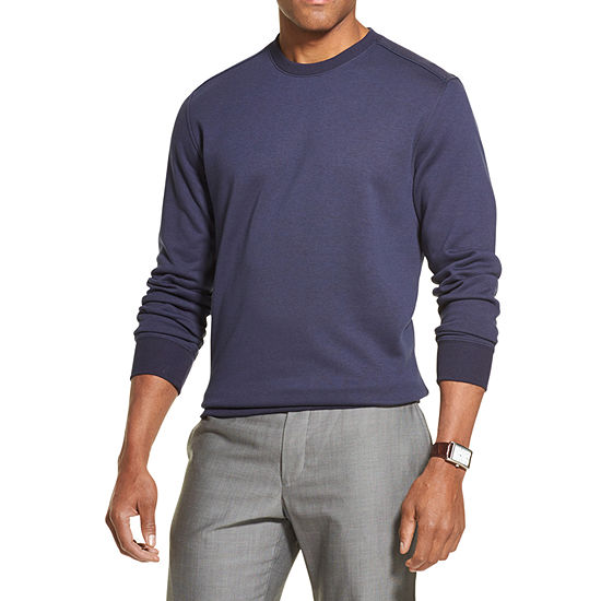 Van Heusen Flex Mens Crew Neck Long Sleeve Sweatshirt