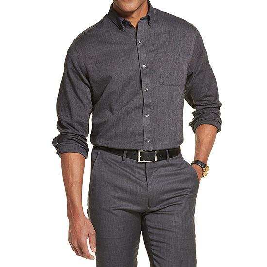 Van Heusen Flex Mens Long Sleeve Button-Down Shirt