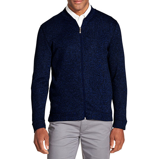Van Heusen Never Tuck Sweater Bomber