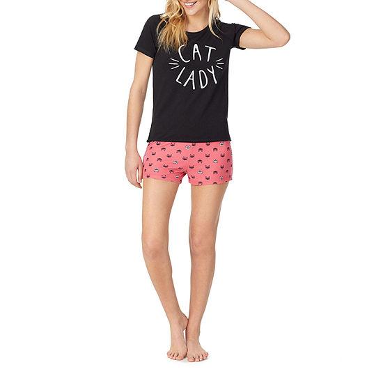 Nite Gear-Juniors Shorts Pajama Set Short Sleeve