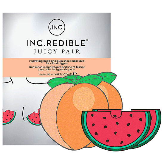 INC.redible Hydrating Boob and Bum Sheet Mask Duo